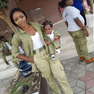 BN Living Sweet Spot: Baby Corper reporting for duty 😍