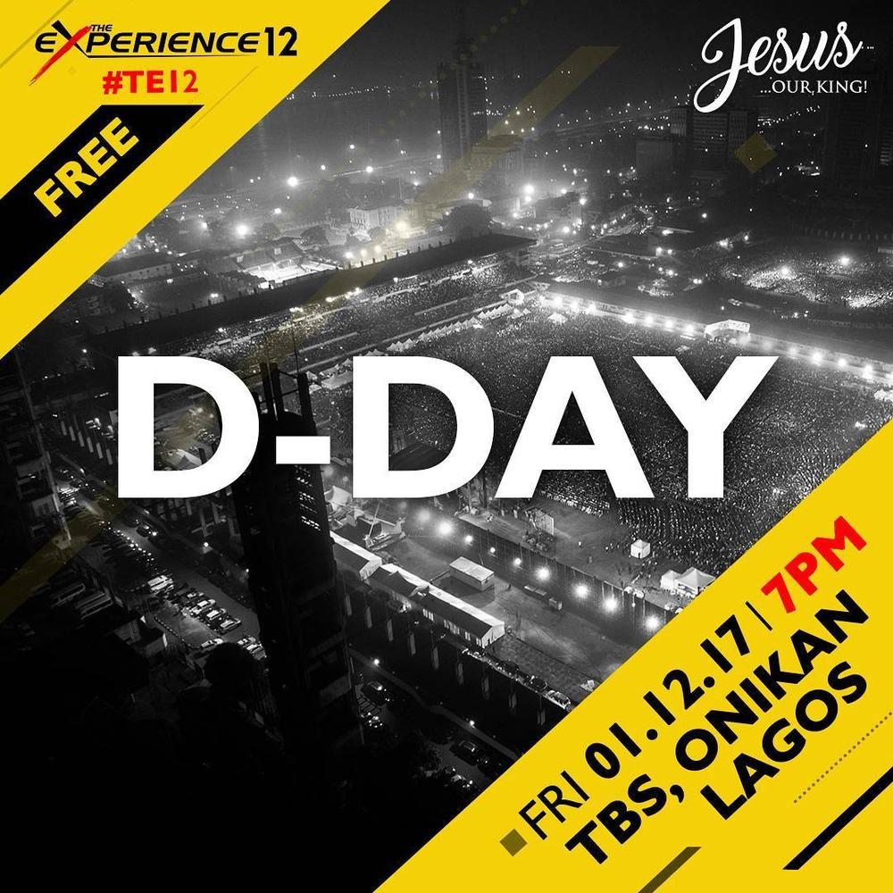 #TE12: We're joining The Experience 12 Tonight for a night of Worship! 😇 Are You?