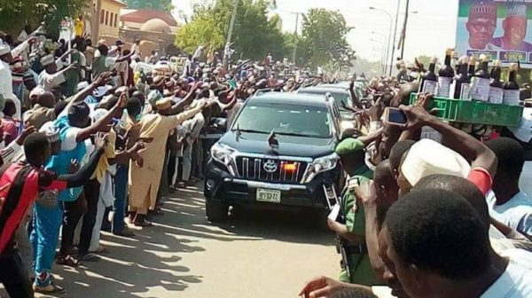 """""""If 80% of these people were gainfully employed they will not be on the road welcoming Buhari"""" - Ali Baba - BellaNaija"""
