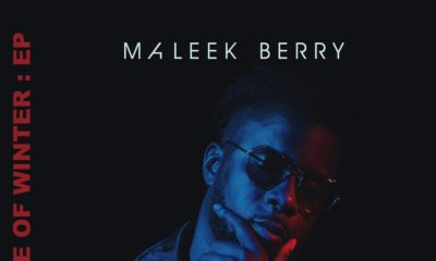 First Daze of Winter! ❄ Maleek Berry's New EP arrives January 11th
