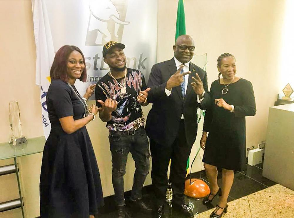 Music Star Davido nabs Endorsement Deal with First Bank of Nigeria