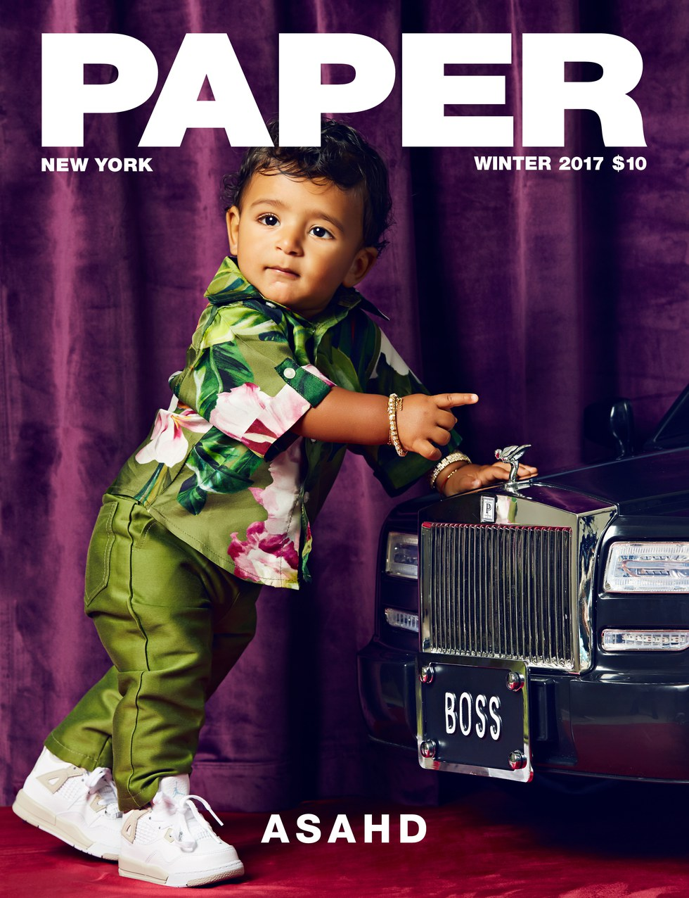 Fresh Prince of Hip-Hop! Asahd Khaled covers Winter 2017 Issue of Paper Magazine
