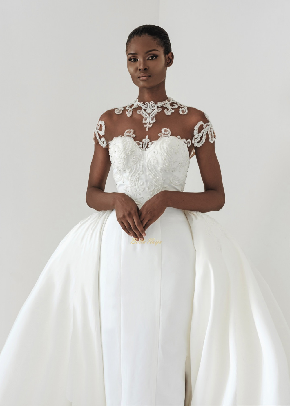 Wedding Dress Steamer 32 Fabulous The Andrea Iyamah bridal