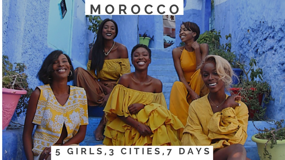 "BellaNaija Style in Marrakesh! Watch 5 Fashion Bloggers take Morocco's ""Jewel of the South"""