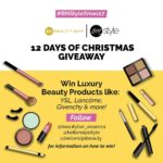 BellaNaija Style: YSL, Lancôme, Givenchy... WIN Luxury Beauty Products in the #BNStyleXmas17 x Beauty Bar 12 Days of Christmas Giveaway!