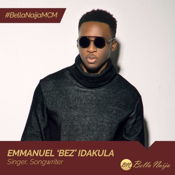 "Multi-instrumentalist, Singer-songwriter & Composer! ""Alternative Soul"" Star Bez Idakula is our #BellaNaijaMCM this Week"