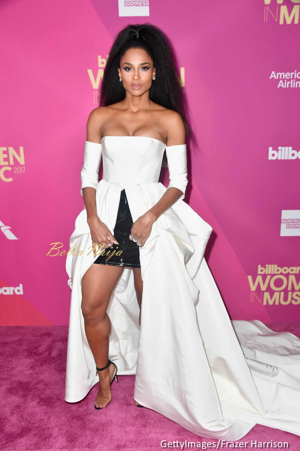 Ciara, Kelly Rowland, Mary J Blige, Solange, Camilla Cabello attend 2017 Billboard Women in Music Awards