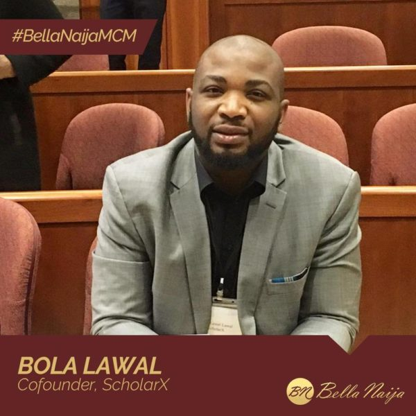 "#BellaNaijaMCM Bola Lawal is using ""Village"" to Crowdfund Education for Out-Of-School Children"