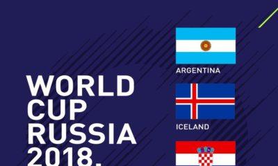 #RoadToRussia: Nigeria put up against Argentina, Iceland & Croatia in #WorldCupDraw