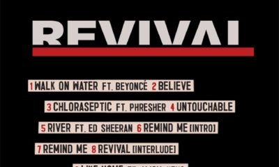 "Beyonce, Ed Sheeran, P!ink, Alicia Keys... Check out the tracklist for Eminem's 9th solo album ""Revival"""