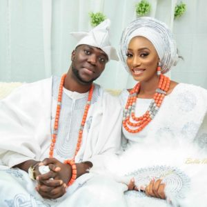 Together Forever! First Photos from Miss Nigeria 2010 Damilola Agbajor & Damilola Adu's #OBA2017 Wedding