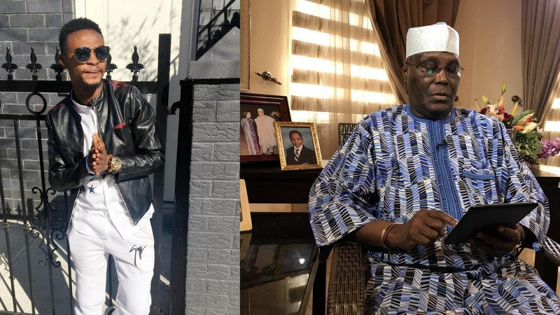 """When will the youths like in your time get a chance?"" - I Go Dye tackles Atiku on Presidential Aspirations"