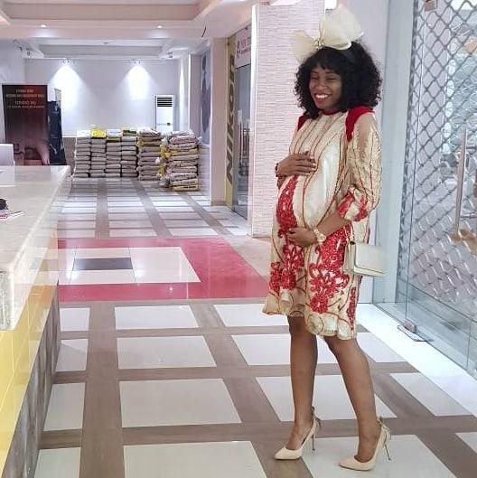 Best Christmas Gift: Nigerian Designer Ejiro Amos Tafiri is Pregnant! - BellaNaija