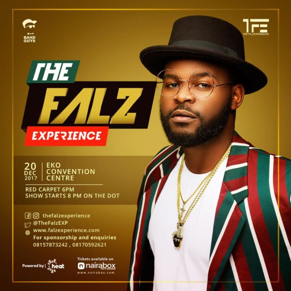 How will Falz recoup his N300 Million after the 'The Falz Experience' Concert?