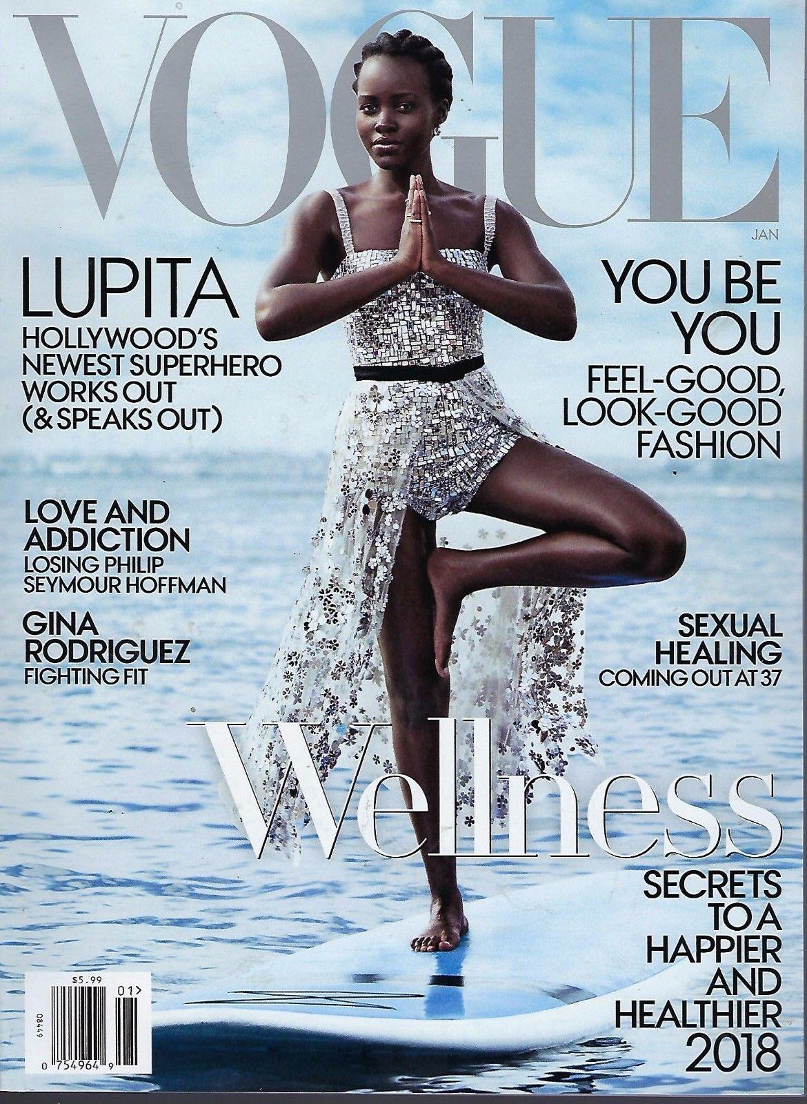 1026338c17b8 Lupita Nyong o is Vogue US  January 2018 Cover Girl!