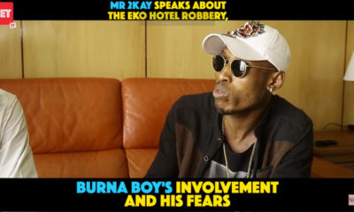 Mr 2Kay opens up on Robbery, Burna Boy in New Interview | WATCH