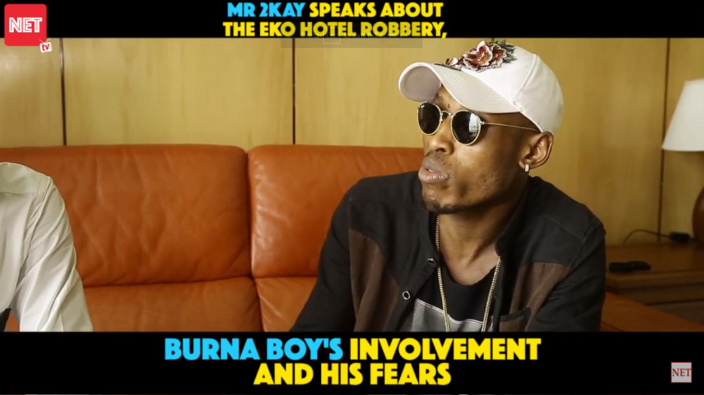 Mr 2Kay opens up on Robbery, Burna Boy in New Interview   WATCH