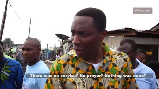 #MyLagosDiaries: Tony Rapu visits a Brothel in search of Magdalene - BellaNaija