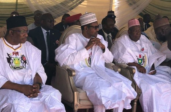President Buhari attends Pardoning of 500 Inmates in Kano - BellaNaija