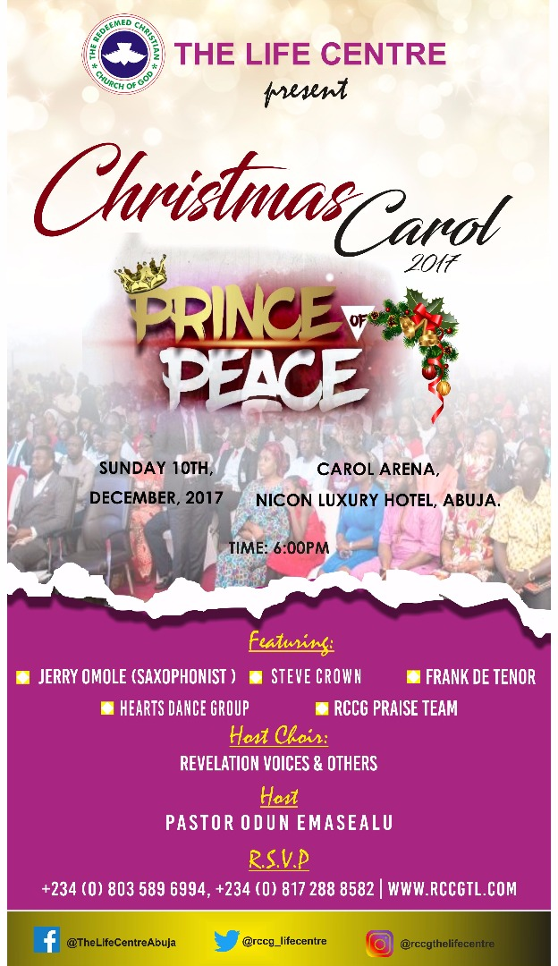 RCCG the Life Centre Christmas Carol