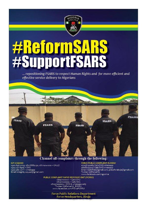 #EndSARS: Police launches new movement #SupportSARS - BellaNaija