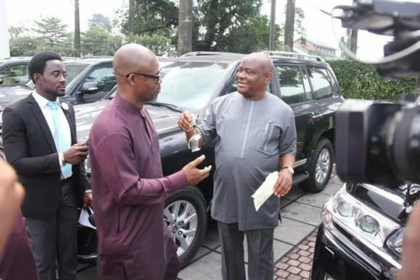 Governor Wike gifts Rivers Lawmakers 16 SUVs - BellaNaija