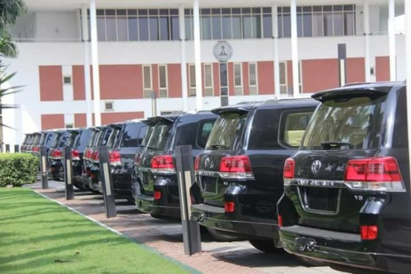 Misplaced Priority? - Governor Wike Gives Rivers Lawmakers 16 Exotic SUVs
