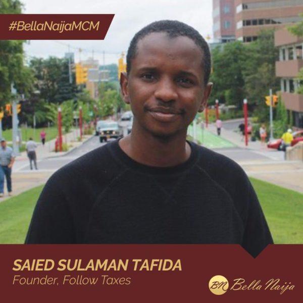 #BellaNaijaMCM: Saied Sulaman Tafida is using Follow Taxes to Enhance Taxpayer Education & Fight Corruption