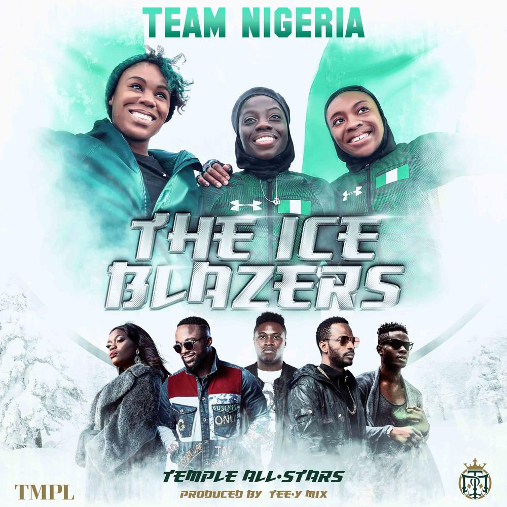 The Ice Blazers!❄ Iyanya, 9ice, Bisola, Jeff Akoh team up on New Single for Nigerian Bobsled Girls | Listen on BN