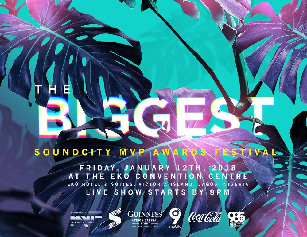 Davido, Wizkid, Tiwa Savage top Nominees List for #SoundcityMVP Awards