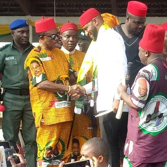 Yul Edochie dumps DPC for APGA in Anambra
