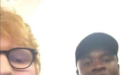 Big Shaq meets with Ed Sheeran and Man's still Not Hot ? | WATCH