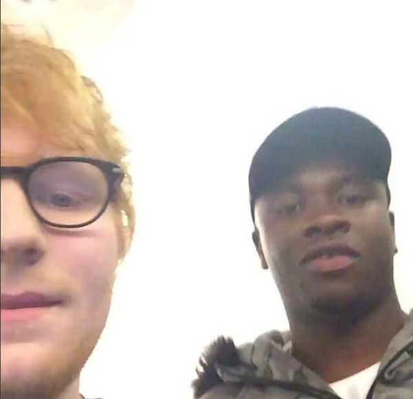 Big Shaq meets with Ed Sheeran and Man's still Not Hot 😂 | WATCH