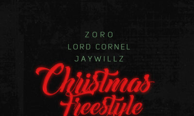 """Lord Cornell, JayWillz, Skelly feature on Zoro's """"Christmas Freestyle""""   Listen on BN"""