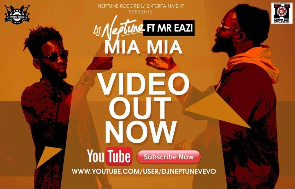 New Video: DJ Neptune feat. Mr Eazi - Mia Mia