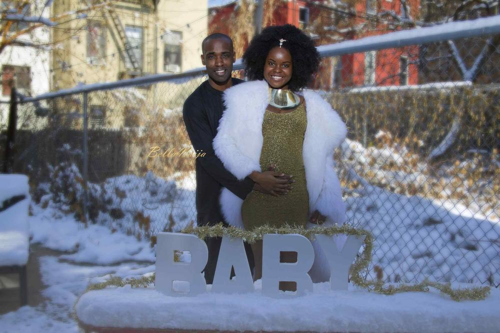 Simplicity at its Best - Check out this Maternity Shoot of Social Media influencer Kenisha & her Husband David
