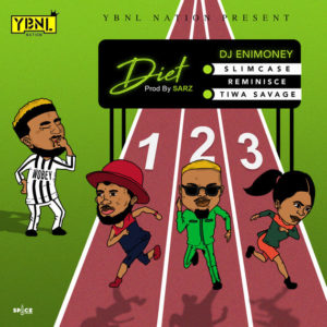 "Wobey Sound!? DJ Enimoney features Reminisce, Slimcase & Tiwa Savage on New Single ""Diet"" 