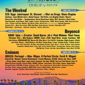 Wizkid, Jidenna, Black Coffee billed to perform at Coachella 2018 ?