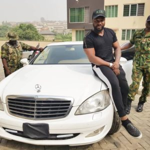 New Whip Alert! Harrysong unveils New Ride