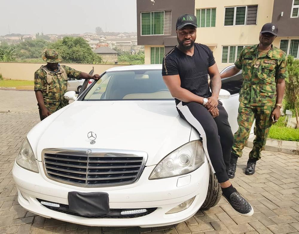 HARYSONG GETS A N95MILLION BULLETPROOF MERCEDES BENZ SE350 (VIDEO).