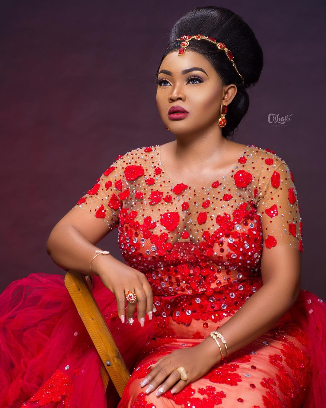 Mercy Aigbe is a Queen at 40 - BellaNaija