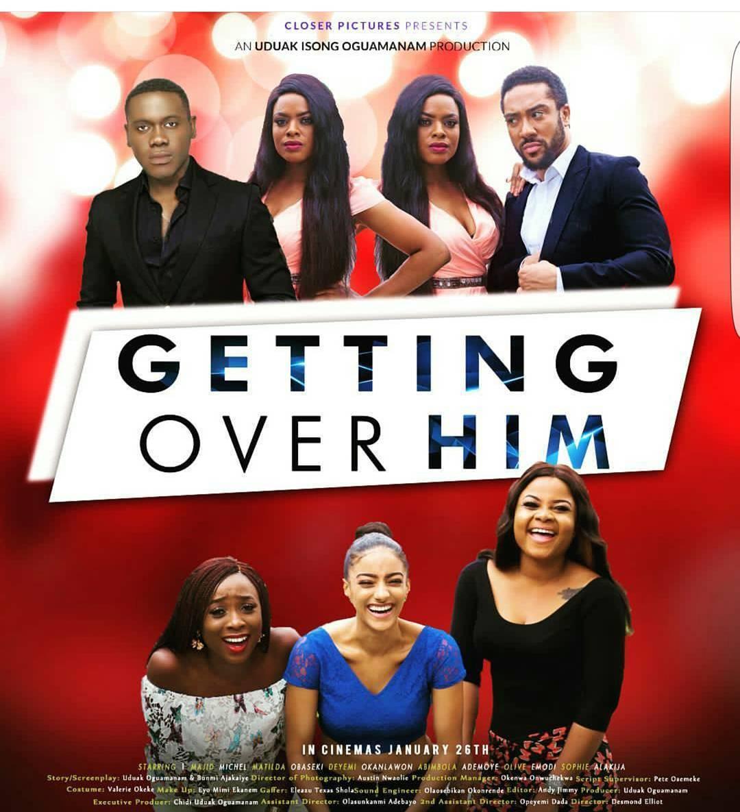 "Must Watch Trailer! Majid Michel, Deyemi Okanlawon, Matilda Obaseki star in ""Getting Over Him"""