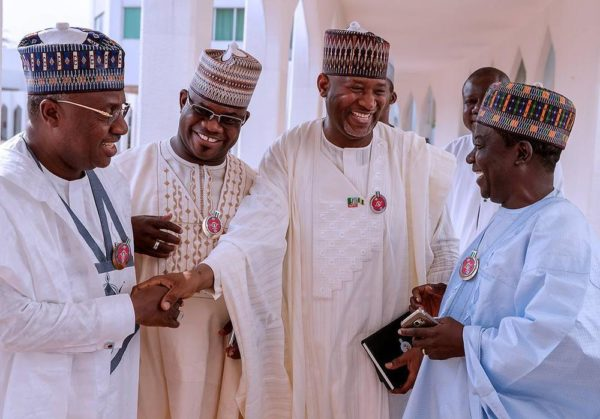 Seven Northern Govs Storm Aso Rock, Reaffirm Support For Buhari