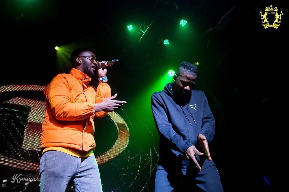 Wizkid, Falz, Basketmouth make surprise appearance at Ycee's #JuiceConcertUK