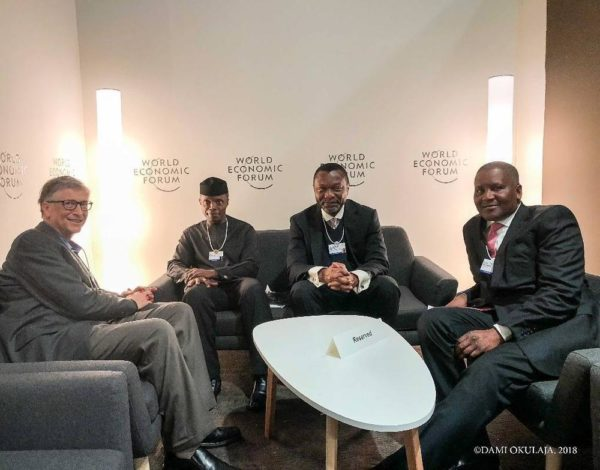 Osinbajo ends participation at 2018 World Economic Forum in Davos - BellaNaija