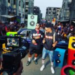 """Efe & Olamide hit the streets for to shoot Music Video for """"Warri"""" Collaboration"""