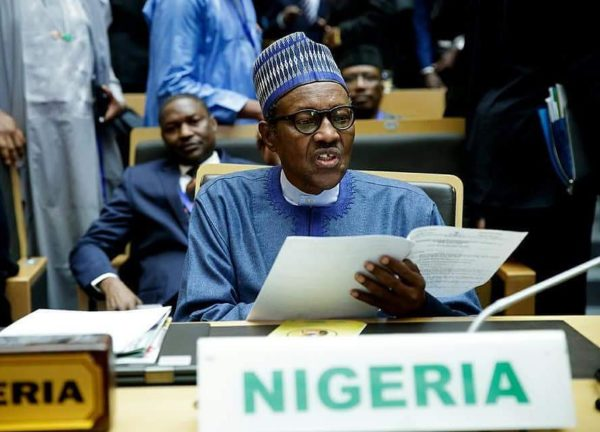 Corruption is one of greatest evils of our time - President Buhari at AU Summit - BellaNaija