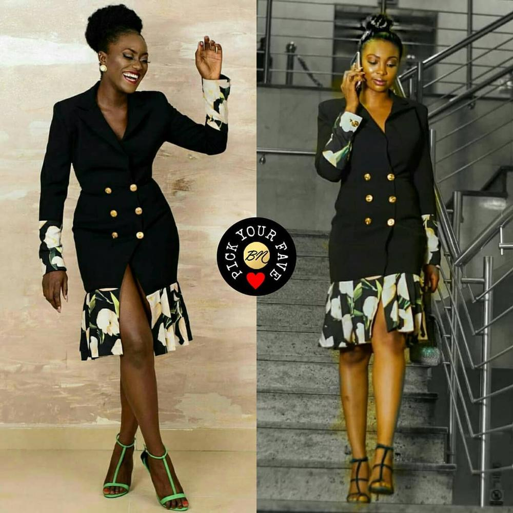 BN Pick your Fave - Bolanle Olukanni & Linda Osifo in 2207byTbally's #LAOblazerdress