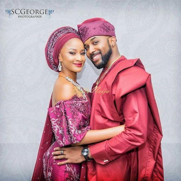 """You were worth the wait"" - Banky W wishes wife Adesua a Happy Birthday - BellaNaija"