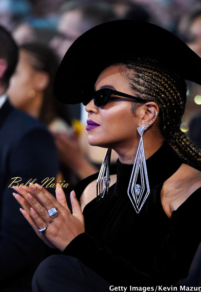 We ? Beyonceu0026#39;s Black Panther Inspired Grammy 2018 Look | #Grammys - BellaNaija